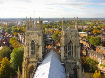 View from the top of the Minster